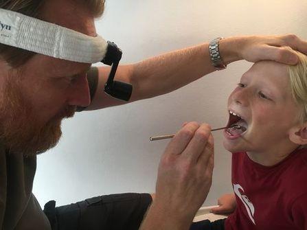 Find din lokale øre næse halslæge
